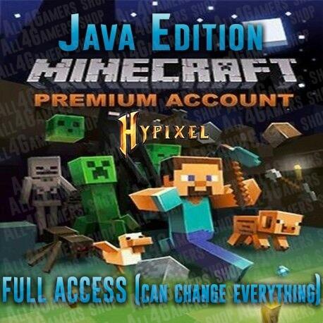 Minecraft Java Edition-PREMIUM Java edition MC [Unused ...